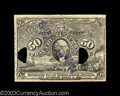 Fractional Currency:Second Issue, Second Issue 50c Experimental Gem New. This note was from ...