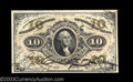 Fractional Currency:Third Issue, Fr. 1253 10c Third Issue Gem New. The bottom margin is ...
