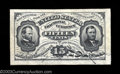 Fractional Currency:Third Issue, Fr. 1272SP 15¢ Third Issue Face and Back Pair About New. A ... (2 notes)