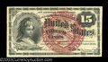 Fractional Currency:Fourth Issue, Fr. 1268 15c Fourth Issue Choice New. Very heavily fibered,...