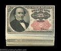 Fractional Currency:Fifth Issue, Fr. 1309 25c Fifth Issue Group of Twenty. All Twenty notes ...