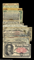 Fractional Currency:Fifth Issue, Fr. 1309 25c Fifth Issue Group of Twenty. A second group ... (20notes)