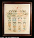 Fractional Currency:Shield, Pink Fractional Currency Shield. An unusually nice example ...