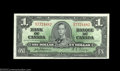 Canadian Currency: , BC-21a $1 1937 Choice Crisp Uncirculated. Sharp corners ...