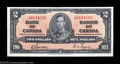 Canadian Currency: , Three BC-22b $2 1937 Choice Crisp Uncirculated or Better. ... (3notes)