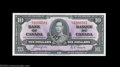Canadian Currency: , BC-24c $10 1937 Gem Crisp Uncirculated. Hefty margins, ...