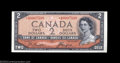 Canadian Currency: , BC-30bA $2 1954 Devil's Face. Choice Crisp Uncirculated. A ...