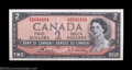Canadian Currency: , BC-38cT $2 1954 Test Note Gem Crisp Uncirculated. Only 340,...