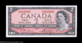 Canadian Currency: , BC-38dT $2 1954 Test Note Gem Crisp Uncirculated. Only 240,...