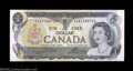 Canadian Currency: , BC-46bT $1 1973 Test Note Choice About Uncirculated. This ...