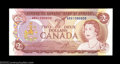 Canadian Currency: , Two Consecutive BC-47a-i $2 1974 Choice Crisp Uncirculated.