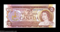 "Canadian Currency: , BC-47bA $2 1974 ""X"" Replacement Note Gem Crisp Uncirculated."