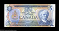 Canadian Currency: , BC-53a $5 1979 Gem Crisp Uncirculated. The serial number ...