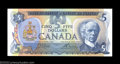 Canadian Currency: , BC-53bA $5 1979 Replacement Note Extremely Fine-About ...