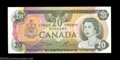 Canadian Currency: , BC-54bA-i $20 1979 Replacement Note Gem Crisp Uncirculated.