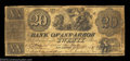 Obsoletes By State:Michigan, Ann Arbor, MI- The Bank of Ann Arbor $20 July 1, 1837 G18 ...