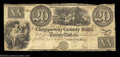 Obsoletes By State:Michigan, Sault De St. Mary, MI- Chippeway County Bank $20 G6 Lee ...