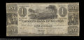 Obsoletes By State:Michigan, Sharon, MI- The Farmer's Bank of Sharon $1 Dec. 23, 1837 ...