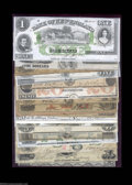 Obsoletes By State:Mixed States, A Hoard of Eastern Obsolete Notes