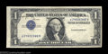 Error Notes:Inverted Third Printings, Fr. 1613 $1 1935D Silver Certificate. Extremely Fine. ...