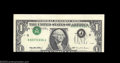 Error Notes:Inverted Third Printings, Fr. 1922-F $1 1995 Federal Reserve Note. Choice About ...