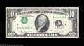 Error Notes:Inverted Third Printings, Fr. 2023-D $10 1977 Federal Reserve Notes. Gem Crisp ...