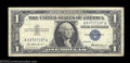 Error Notes:Mismatched Prefix Letters, Fr. 1619 $1 1957 Silver Certificate. Fine-Very Fine. This ...