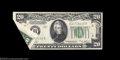 Error Notes:Foldovers, Fr. 2056-B $20 1934B Federal Reserve Note. Choice About ...