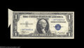 Error Notes:Attached Tabs, Fr. 1608* $1 1935A Silver Certificate. Very Fine.