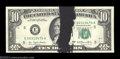 Error Notes:Ink Smears, Fr. 2023-E $10 1977 Federal Reserve Notes. Gem Crisp ... (2 notes)