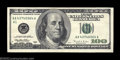 Error Notes:Ink Smears, Fr. 2175-A $100 1996 Federal Reserve Note. About ...