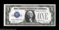 Small Size:Silver Certificates, Fr. 1601/1600 $1 1928A/1928 Silver Certificates. Reverse ...