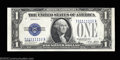Small Size:Silver Certificates, Fr. 1601 $1 1928A Silver Certificate. Crisp Uncirculated.