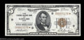Small Size:Federal Reserve Bank Notes, Fr. 1850-D* $5 1929 Federal Reserve Bank Note. About ...