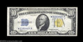 Small Size:World War II Emergency Notes, Fr. 2309* $10 1934A North Africa Silver Certificate. Gem ...