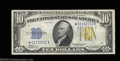 Small Size:World War II Emergency Notes, Fr. 2309* $10 1934A North Africa Silver Certificate. ...