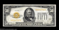 Small Size:Gold Certificates, Fr. 2404 $50 1928 Gold Certificate. Extremely Fine.