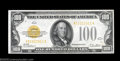 Small Size:Gold Certificates, Fr. 2405 $100 1928 Gold Certificate. Crisp Uncirculated.