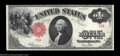 Large Size:Legal Tender Notes, Fr. 39 $1 1917 Legal Tender Very Choice New. This single ...