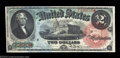 Large Size:Legal Tender Notes, Fr. 42 $2 1869 Legal Tender Gem New. A bright, lovely ...