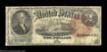 Large Size:Legal Tender Notes, Fr. 53 $2 1880 Legal Tender Very Good. A rather rare ...