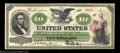 Large Size:Legal Tender Notes, Fr. 93 $10 1862 Legal Tender Very Choice New. This early ...