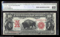 Large Size:Legal Tender Notes, Fr. 122 $10 1901 Legal Tender CGA Gem Uncirculated 65. ...