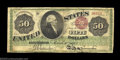 Large Size:Legal Tender Notes, Fr. 150a $50 1863 Legal Tender Fine. One of only seven ...