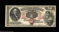 Large Size:Legal Tender Notes, Fr. 152 $50 1874 Legal Tender Fine. Fr. 152 is a one-...