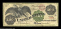 Large Size:Legal Tender Notes, Fr. 165a $100 1862 Legal Tender Fine. This is one of only ...