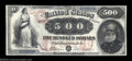 Large Size:Legal Tender Notes, Fr. 185d $500 1878 Legal Tender Choice Fine. This is one ...