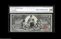 Large Size:Silver Certificates, Fr. 247 $2 1896 Silver Certificate CGA About Uncirculated 55....