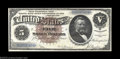 Large Size:Silver Certificates, Fr. 263 $5 1886 Silver Certificate Choice New. Rather ...