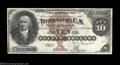 Large Size:Silver Certificates, Fr. 289 $10 1880 Silver Certificate Very Choice New. This ...